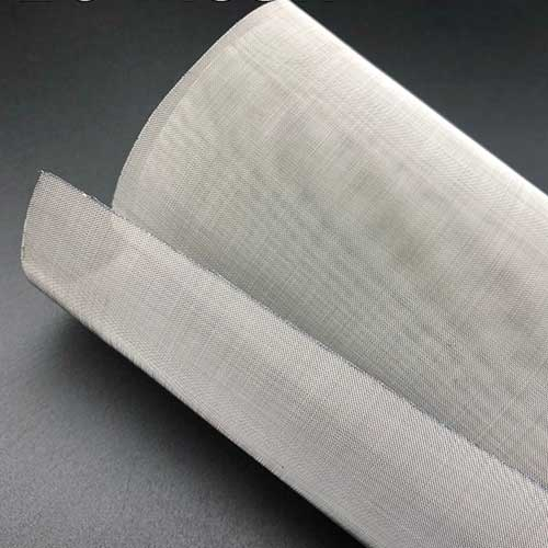 Stainless Steel Plain Woven Wire Mesh