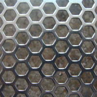 Galvanised Steel Perforated Metal Mesh